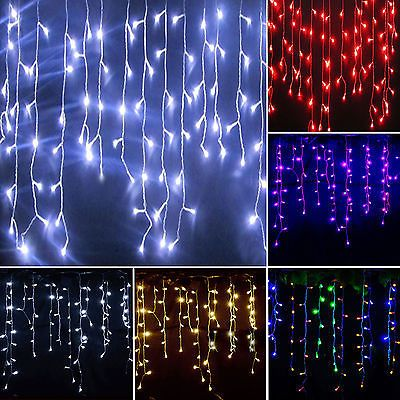 Fairy snowing curtain icicle led outdoor party wedding christmas fairy snowing curtain icicle led outdoor party wedding christmas string lights aloadofball Images