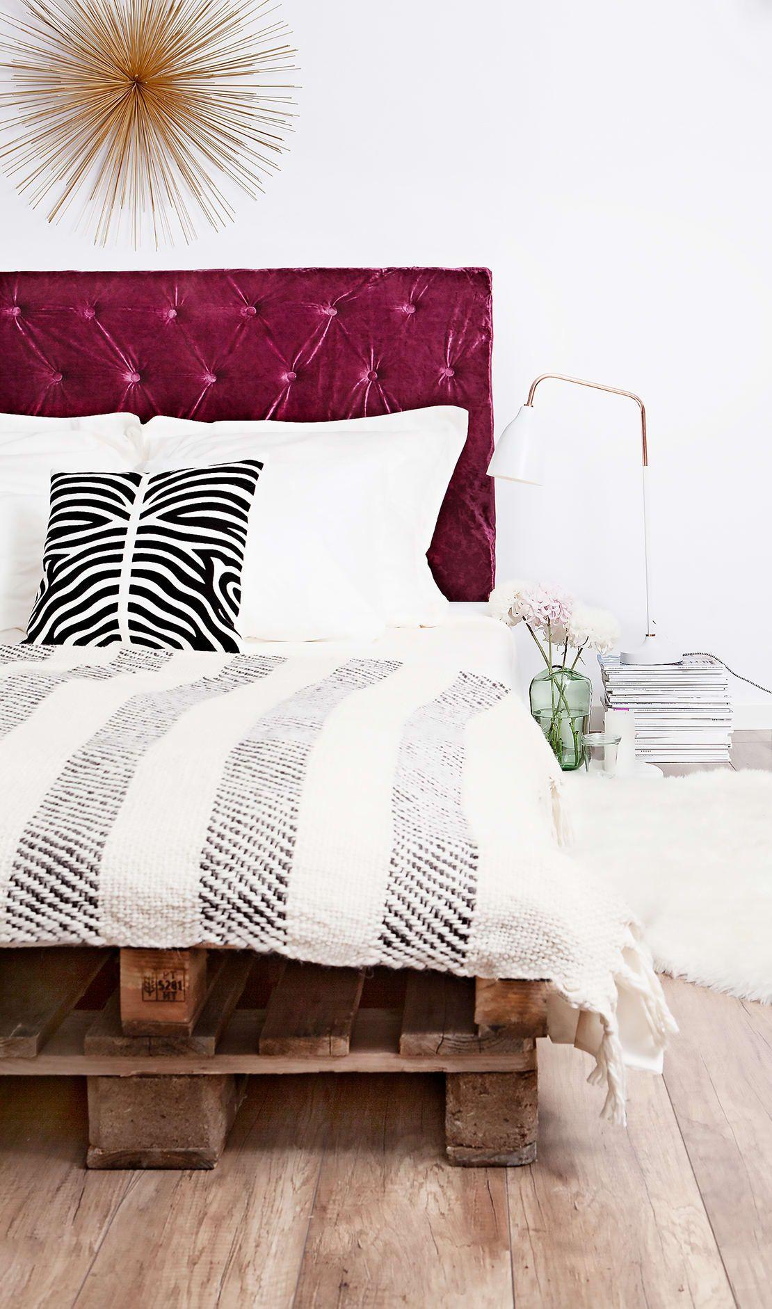Aufgepolstert: So gestalten Sie Ihr eigenes Betthaupt | Ab ins Bett ...