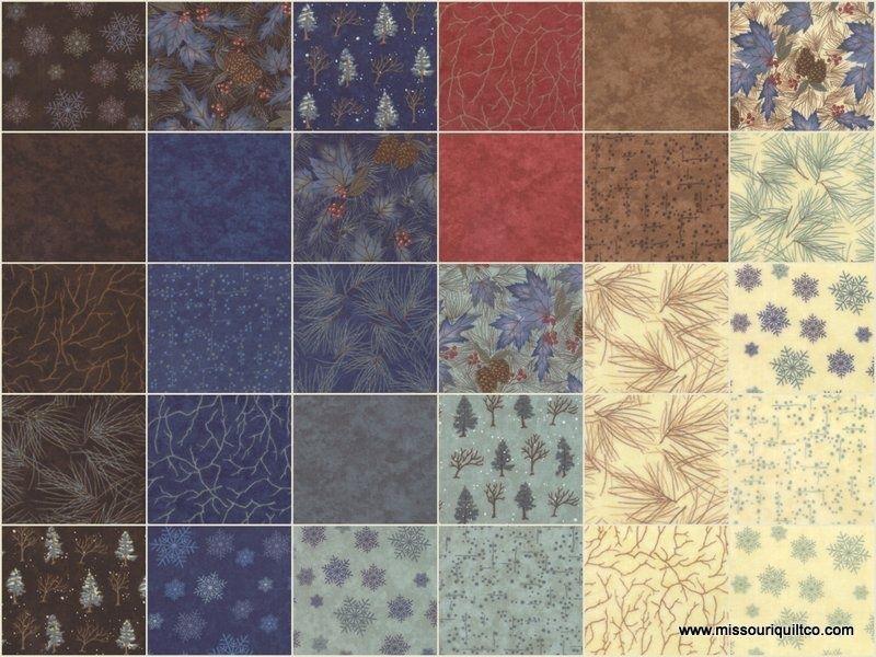 Winter Forest Flannels Layer Cake - Holly Taylor - Moda Fabrics ... : flannel quilt fabric - Adamdwight.com