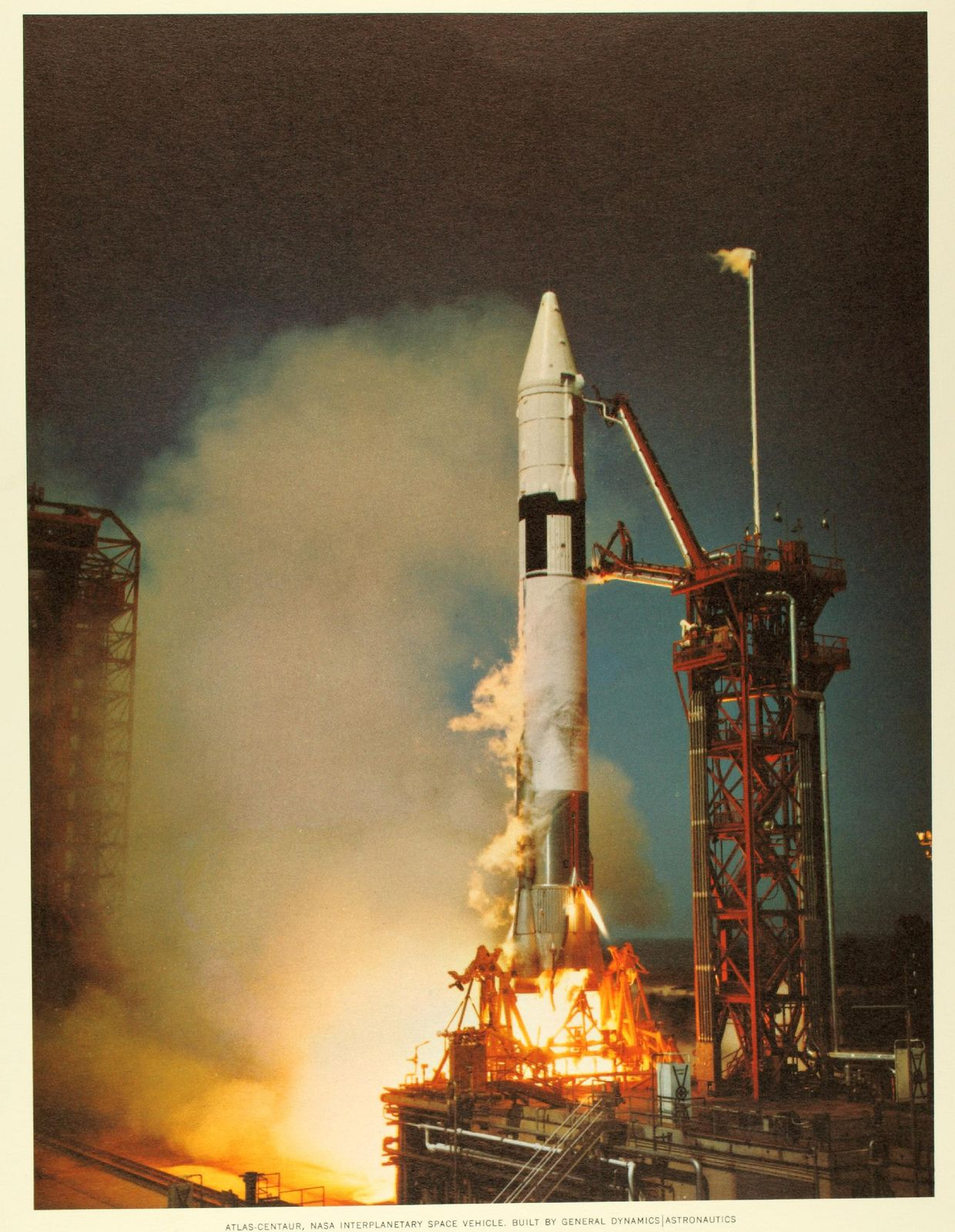First AtlasCentaur launch Space travel, Space