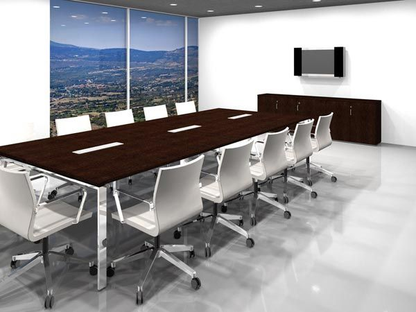 Renders de Oficinas Salas y espacios para reuniones