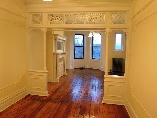 So This Is What Railroad Apartments Looked Like Before They Were Modernized Here The Double Parlor