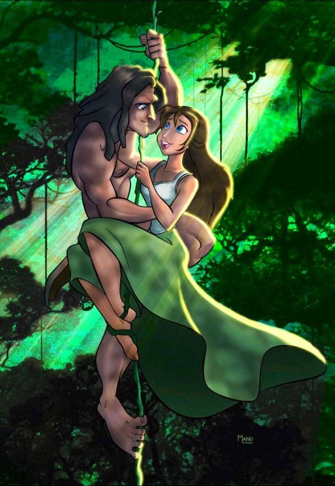 Cartoon Tarzan And Jane