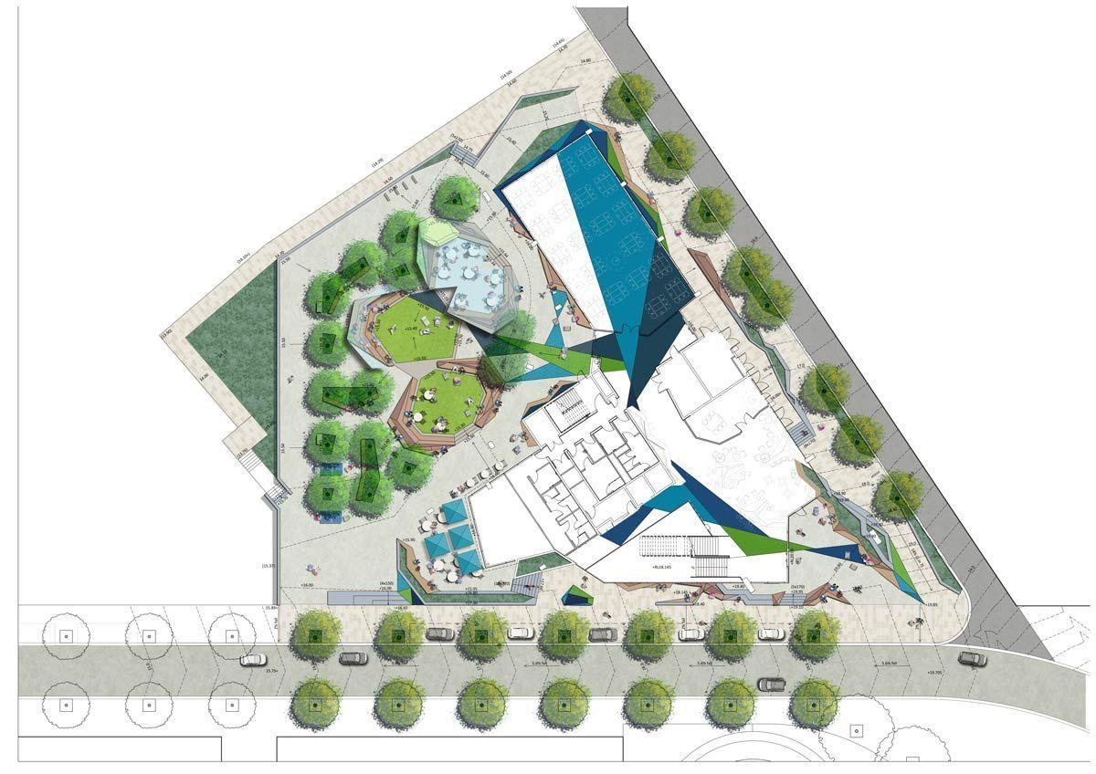 1 Curtin Medical School Place Laboratory 2 Landscape Architecture Works Landezine Modernarchitect Curtin University Modern Architecture Design Landscape