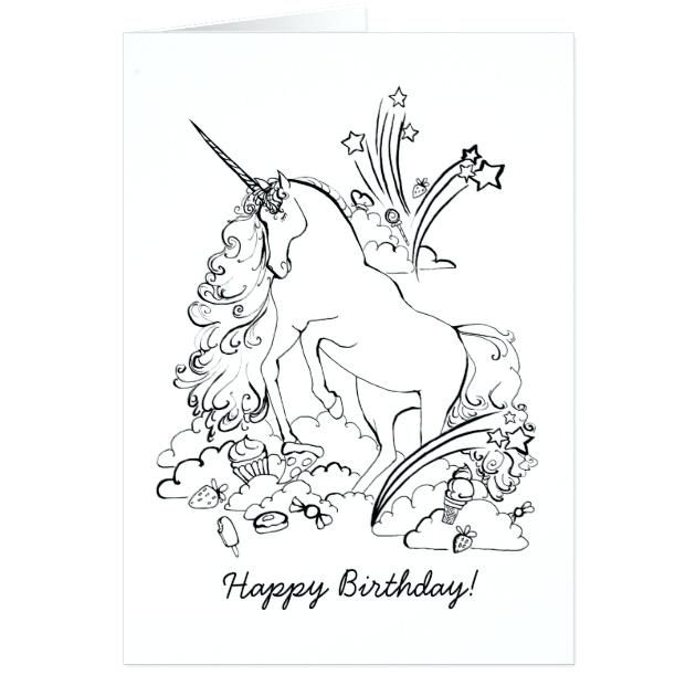 28 Collection Of Happy Birthday Unicorn Coloring Pages High Download Free Unicorn Coloring Pages Happy Birthday Coloring Pages Birthday Coloring Pages