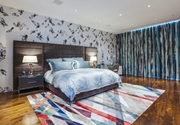 bett kopfteil schlafzimmer ideen multifunktionelle wand #Design - wohnzimmer deko wand