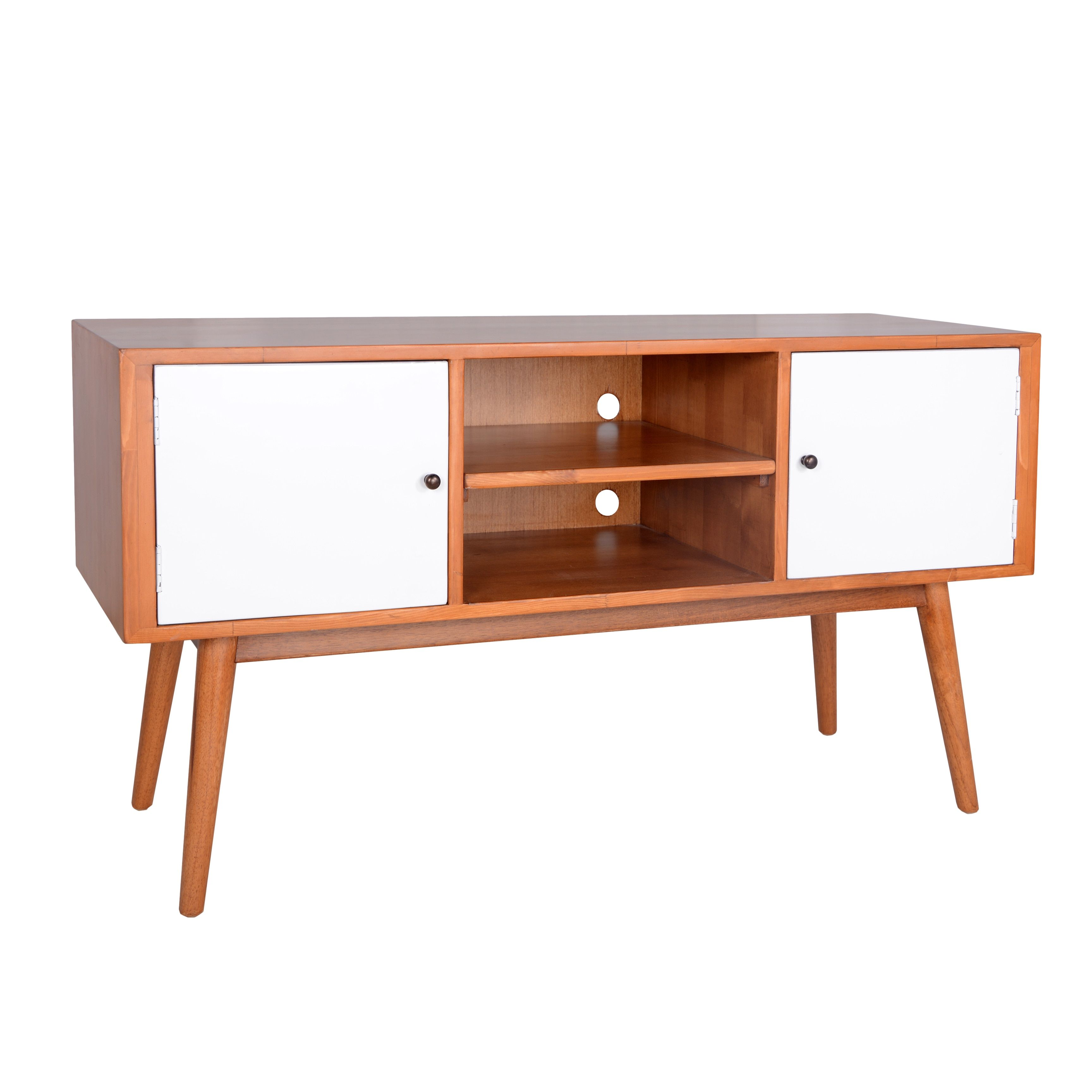 Tv television stands austin s furniture - Mid Century Modern Tv Stand Home Goods Free Shipping On Orders Over 45 At Overstock