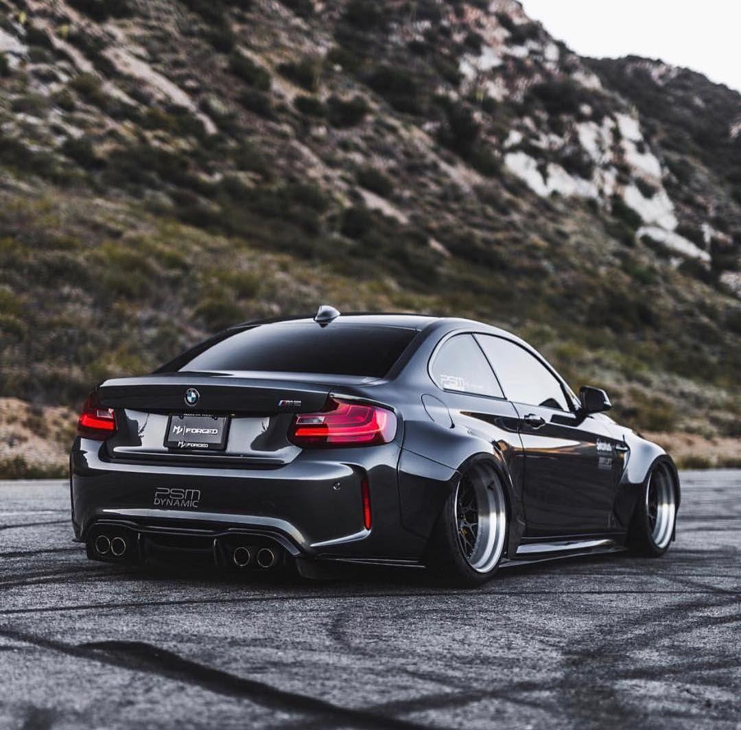 BMW F87 M2 grey widebody slammed | bmw | BMW, Off road ...