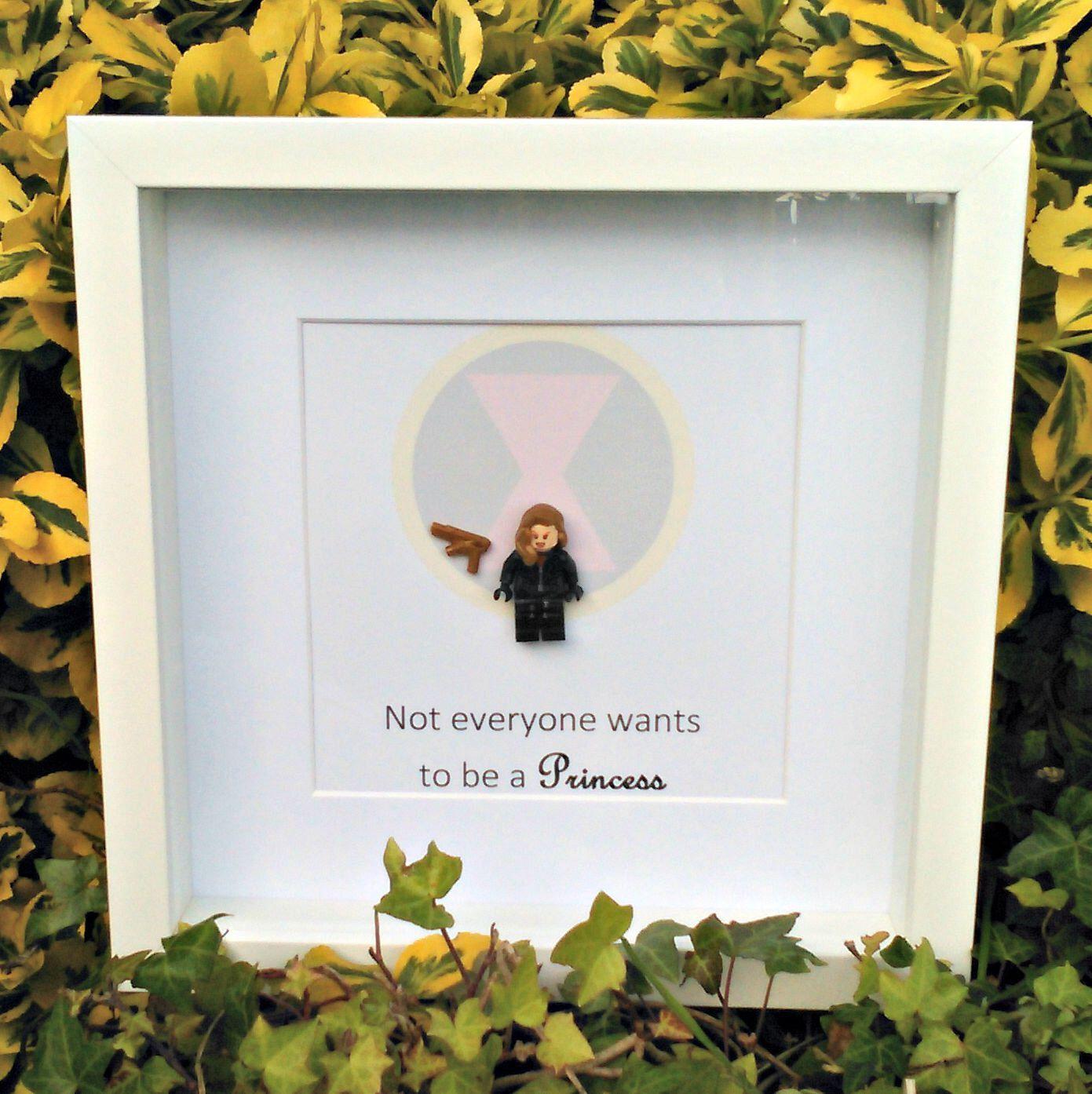 Princess Black Widow Brick Figure Art Not Everyone Wants To Be A