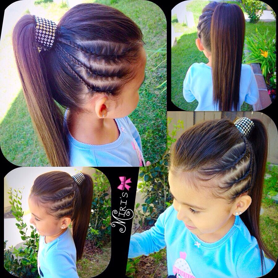Hair style for little girls niñas pinterest hair style girls