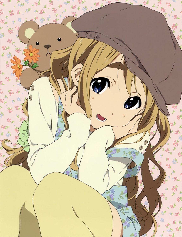 K On Kotobuki Tsumugi Thighhighs Yande Re Anime Anime Character Names Mugi