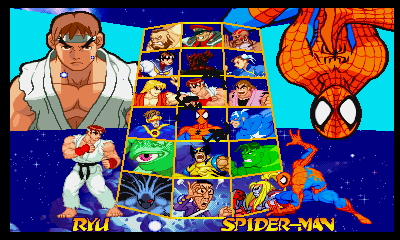 Playstation Marvel Super Heroes Vs Street Fighter Ex Edition Demo Jun3 14 43 03 Png 400 240 格闘ゲーム 格闘 ゲーム