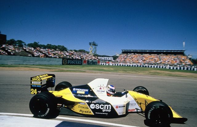 Image result for 1990 minardi