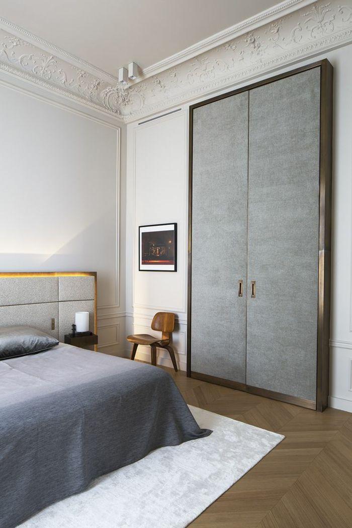 La moulure décorative dans 42 photos avec des idées! Bedrooms