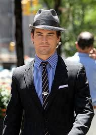 image result for neal caffrey fedora matt bomer suits