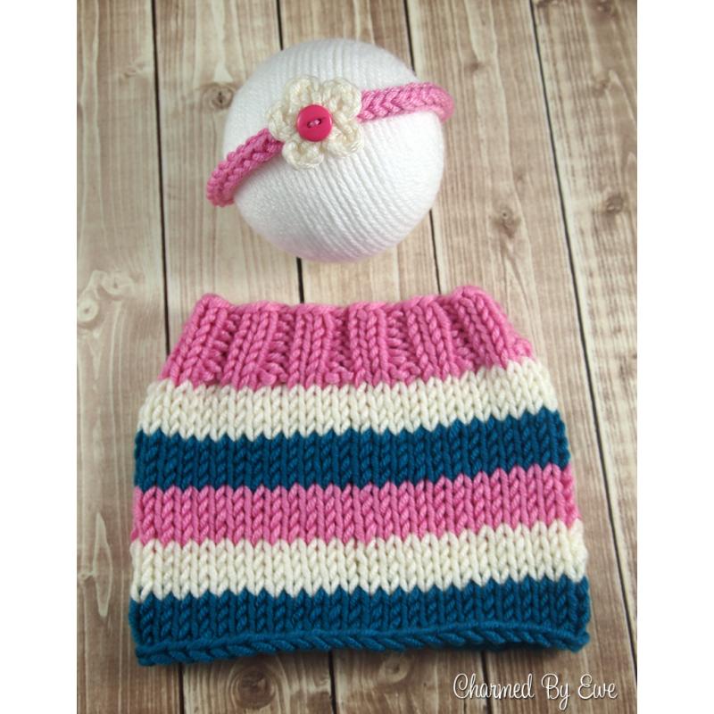 Free Knitting Pattern: Newborn Striped Skirt | knitted baby sweater ...