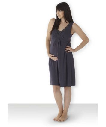 Blooming Marvellous Maternity Lace Trim Nightdress