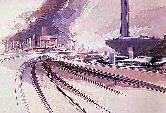 Expressway by Syd Mead