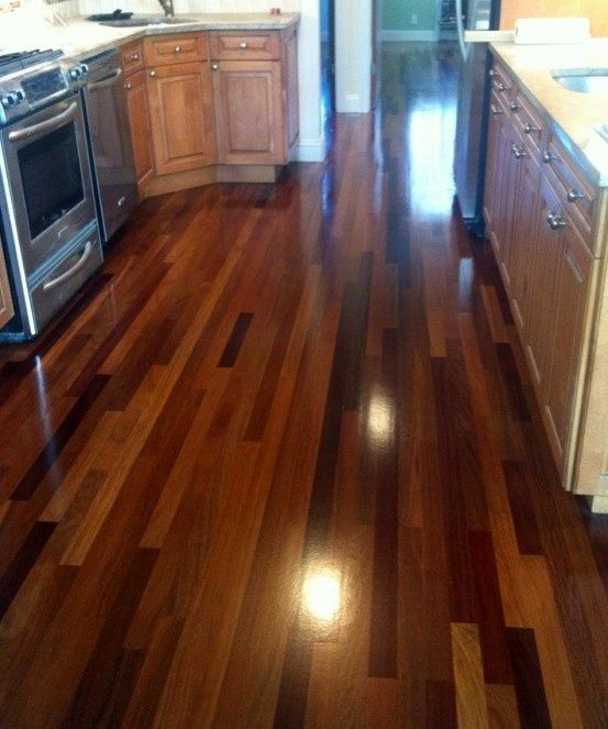 Wood Floor Cleaner And Polisher Apply A Thin Coat Of 1 1