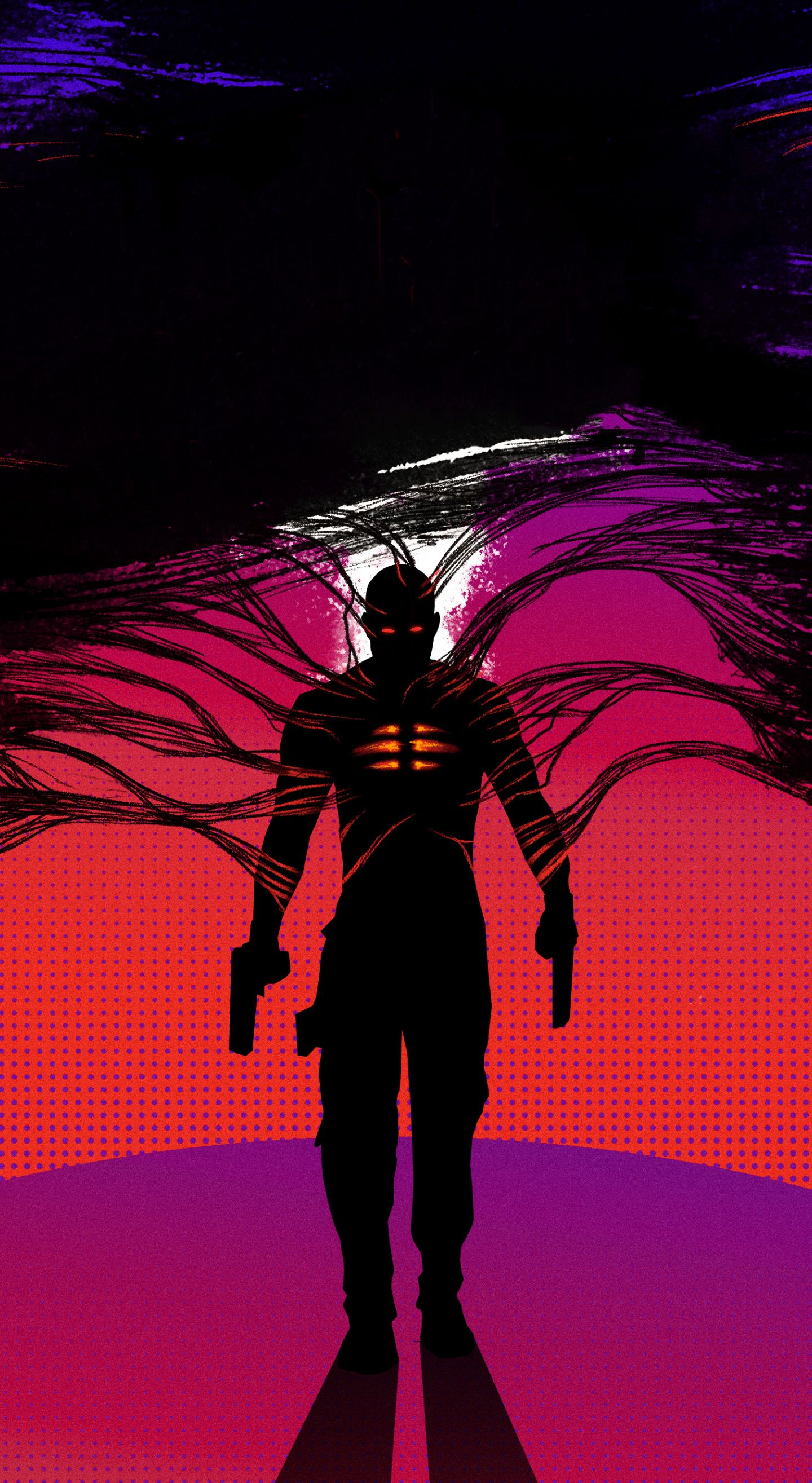 1440x2630 2020 Movie Bloodshot Silhouette Art Wallpaper In 2020 2020 Movies Movie Wallpapers Movies