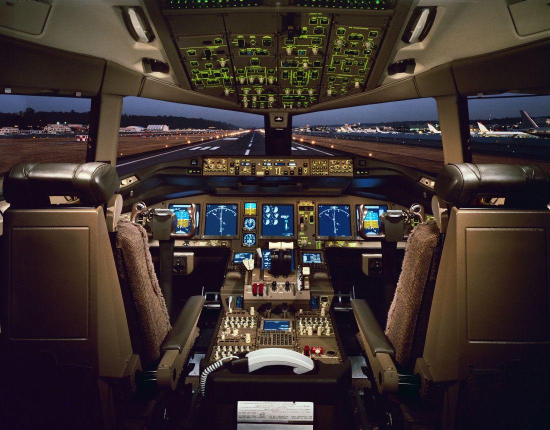 Image result for cockpit plane 777