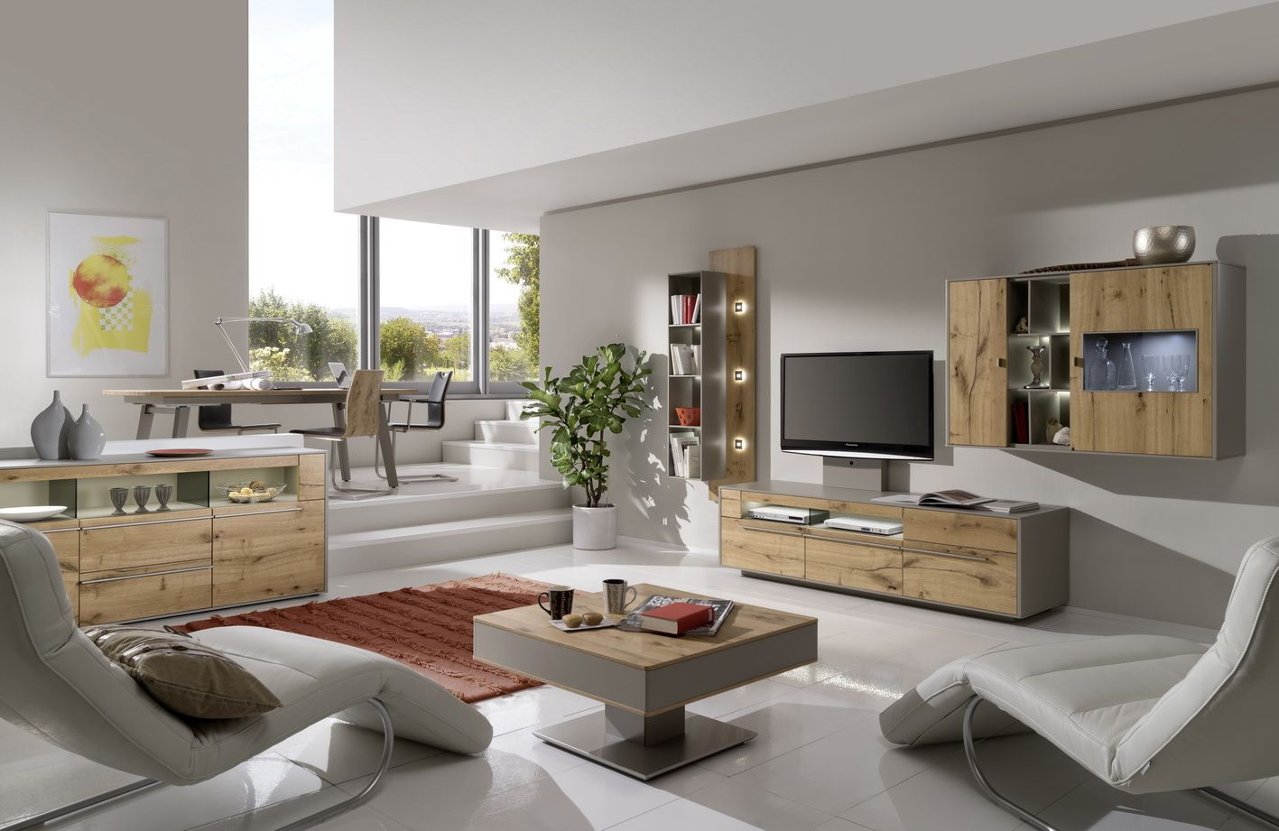 m bel madeingermany furniture gwinner wohndesign design wohnzimmer livingroom wallunit. Black Bedroom Furniture Sets. Home Design Ideas