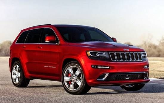 2017 Jeep Grand Cherokee Srt Hellcat Price Pinterest