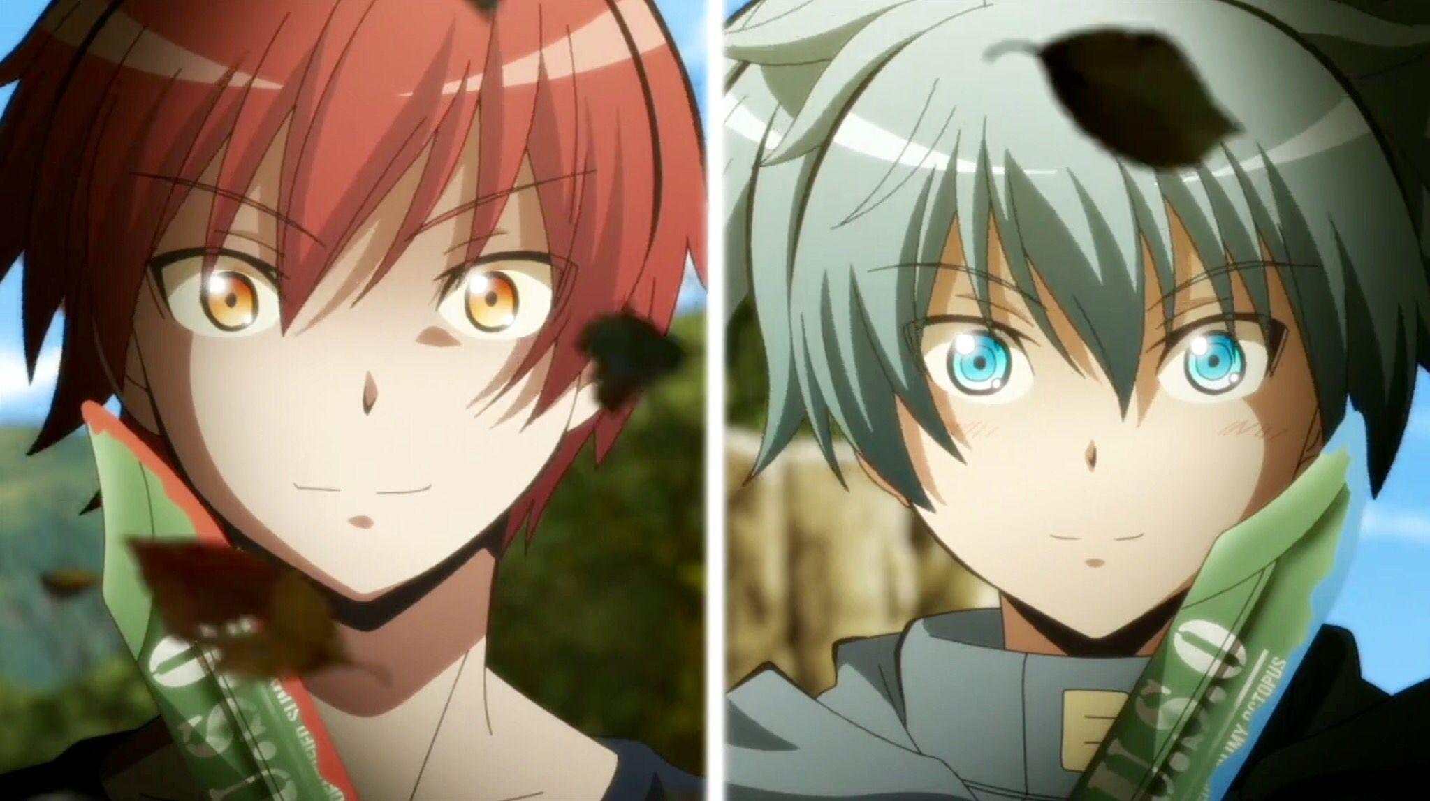 Ansatsu Kyoushitsu Assassinatiom Classroom Akabanekarma Shiotanagisa This Part Was Epic I Really Love Theeem S2 Anime Assassination Classroom Assassin
