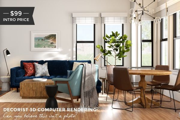 3D Rendering Design With Your Online Interior Design  3D Simple Design Your Living Room Online Inspiration Design