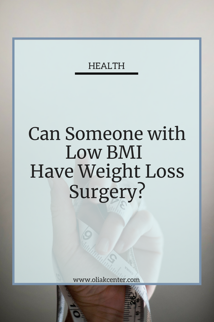 Can Someone With A Low Body Mass Index Benefit From Weight Loss