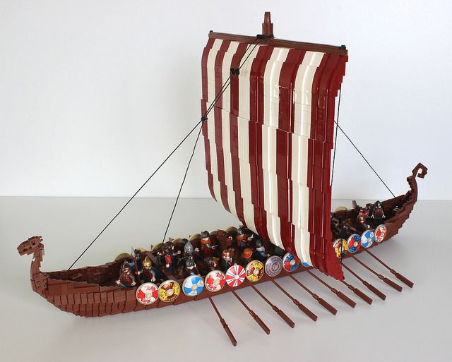 Viking Ship 2 Legos Ships Viking Ship Vikings Lego Age