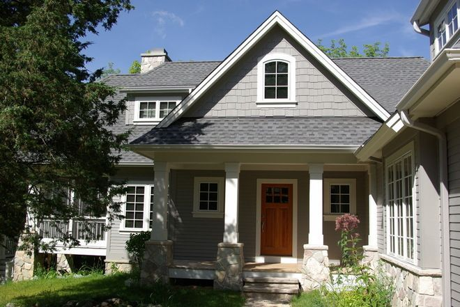 Sherwin Williams Body Of The Home Is Amazing Gray Sw 7044 In Satin Finish The Exteri Exterior Paint Colors For House House Paint Exterior Gray House Exterior