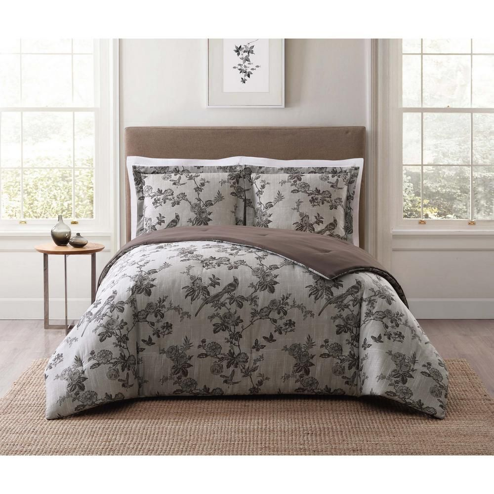 Style 212 Lisborn Brown Multi Full And Queen Xl Comforter Set