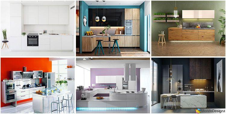 35 Idee per Colori di Pareti di Cucine Moderne | Colori ...