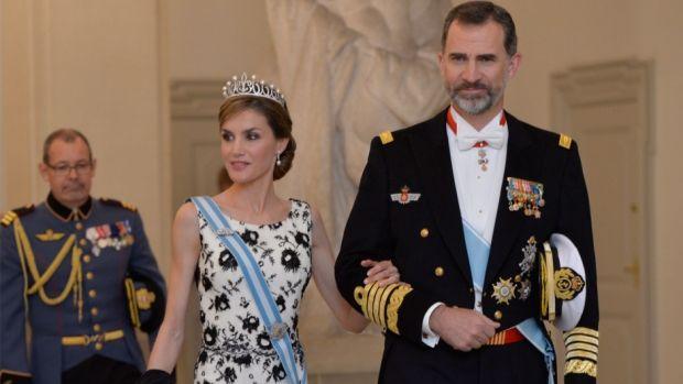 Dronning Letizia stjal billedet i Drabantsalen | Billed Bladet