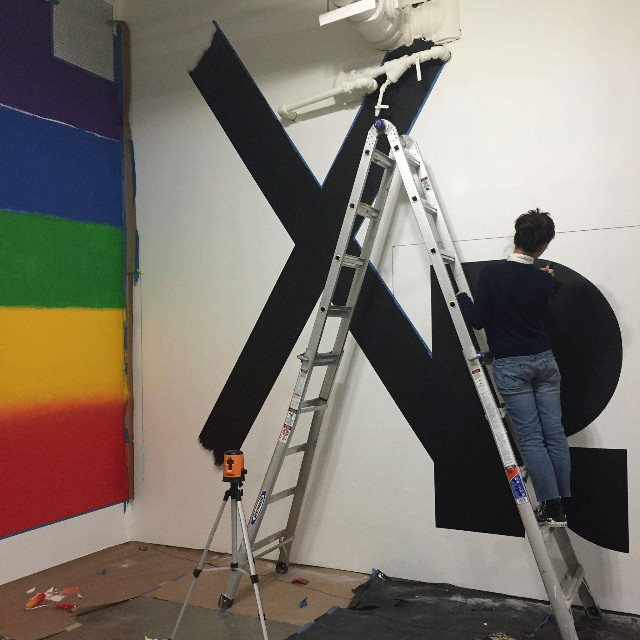 4 na kim wall graphic ladder on kim wall id=27741