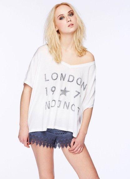samarreta amb print| #PepeJeansLondon #woman