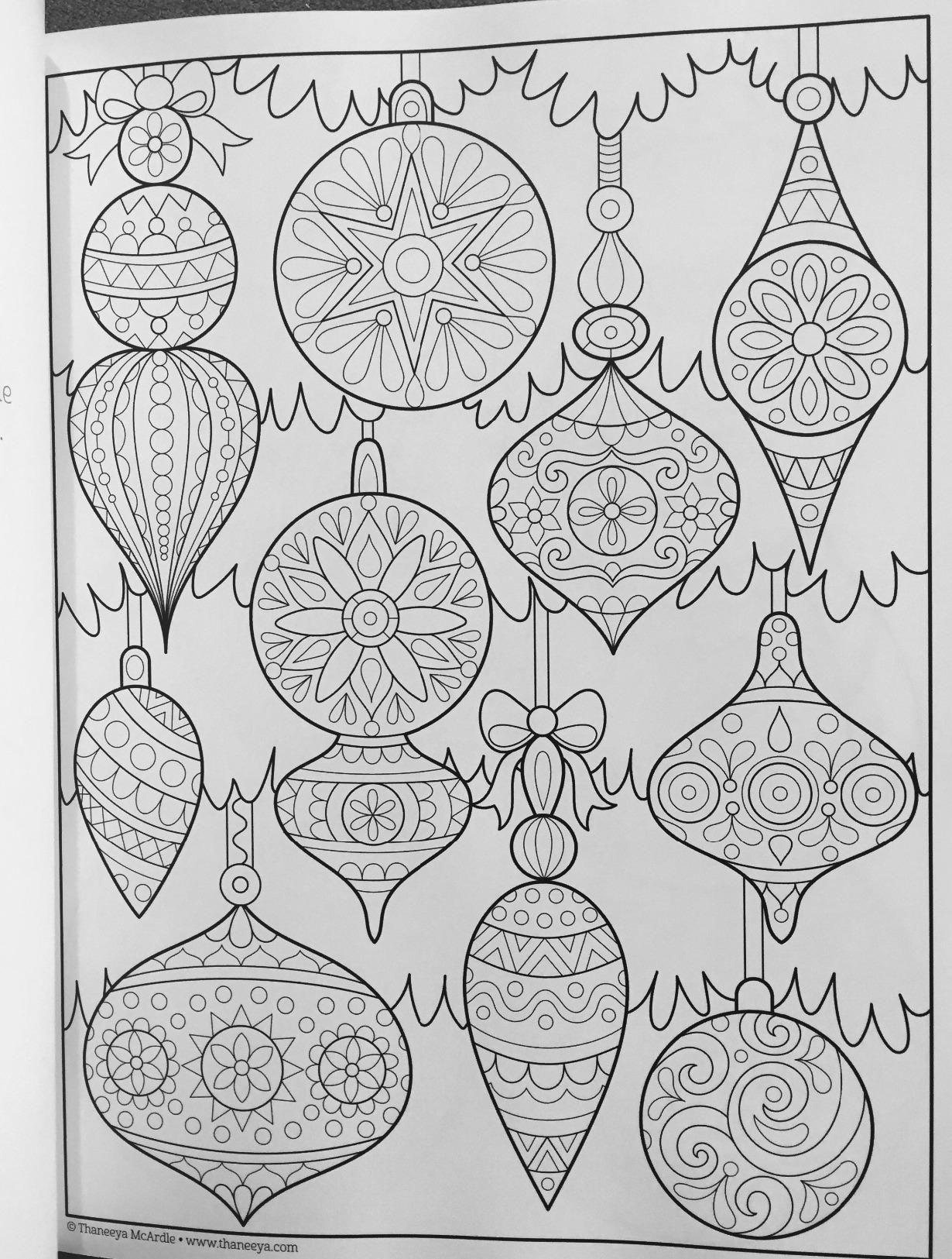 Christmas Coloring Book Is Fun Thaneeya McArdle 9781497200807 Amazon