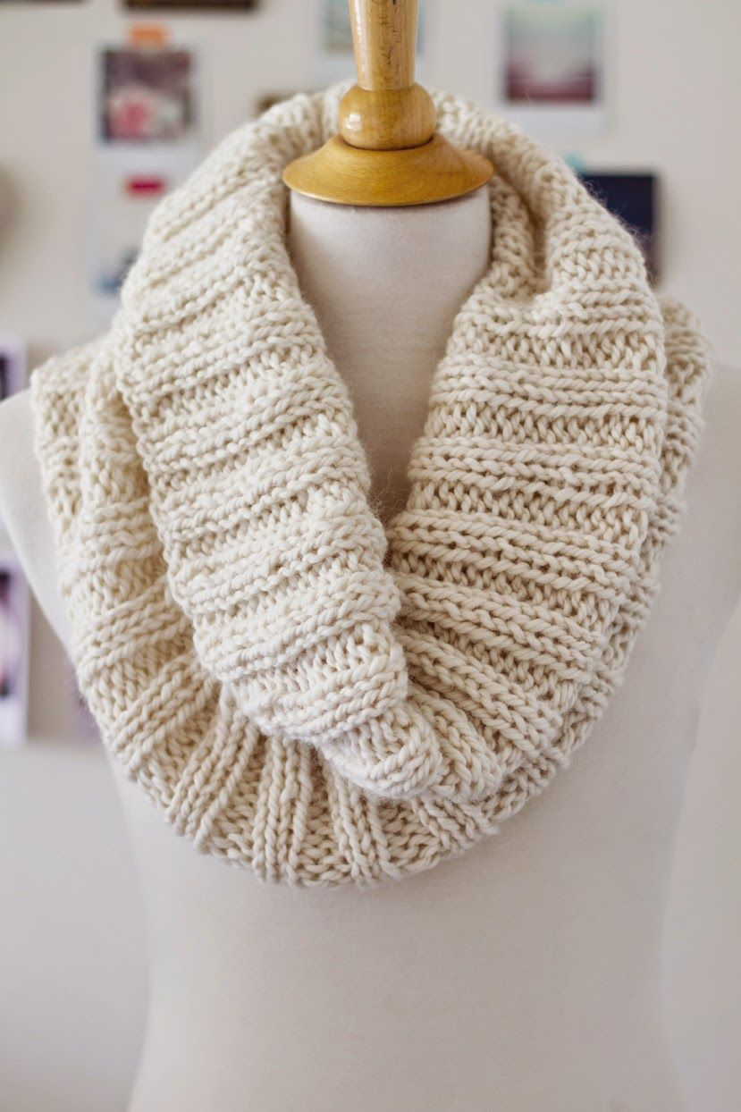 Knitted Cowl Pattern Circular Needles Interesting Inspiration Ideas