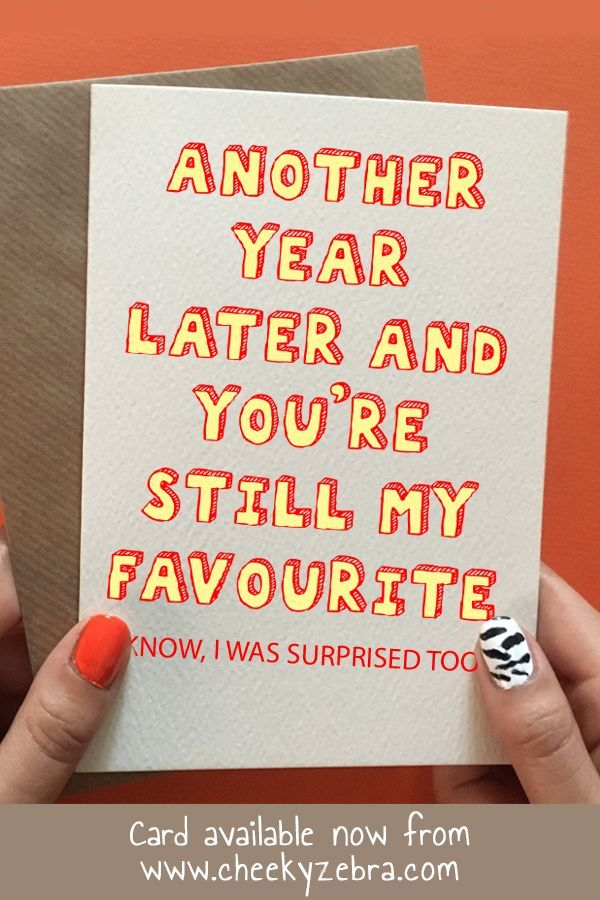 Anniversary Favourite | Funny anniversary cards ...