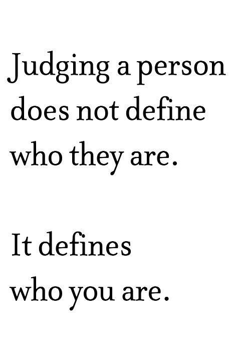 Quotes About Judging Themotivatedtype On Etsy  Random  Pinterest  Life Lessons Advice .