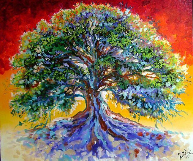 tree painting  tree of life art tree painting tree of