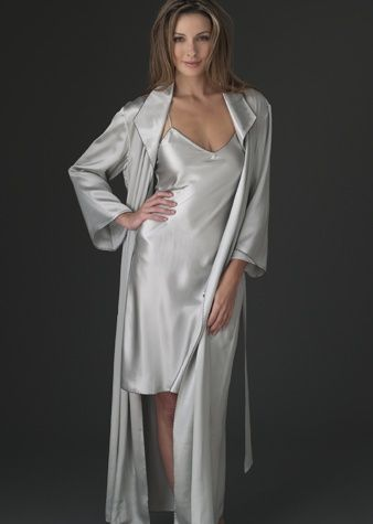 c3af80a07c6 luxury silk full length robe