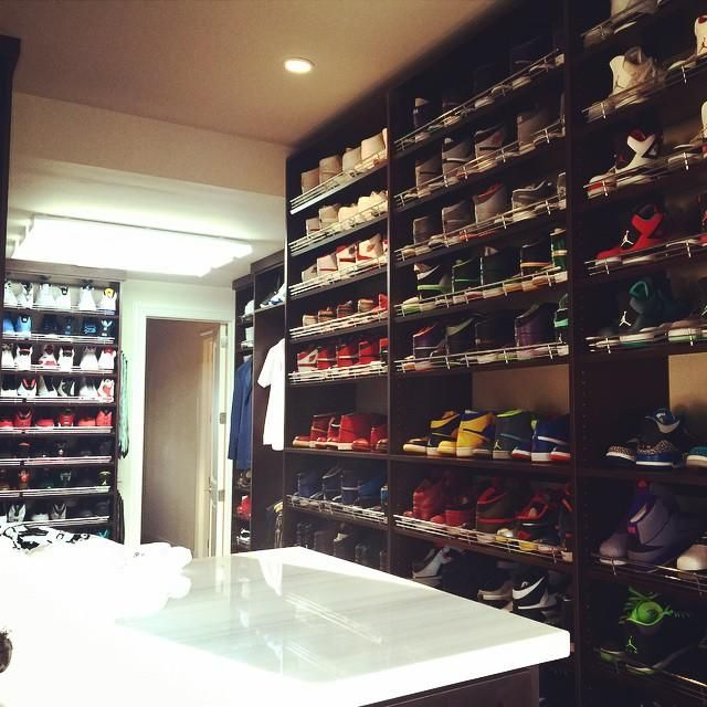 Ray Allens Sneaker Closet