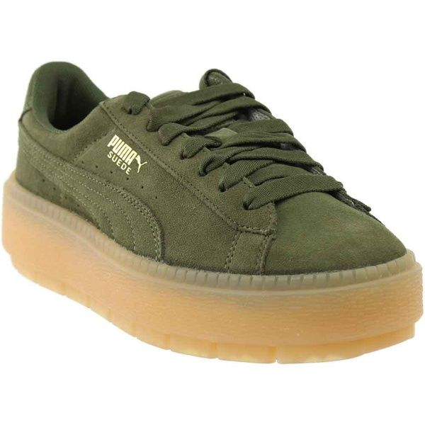 Puma Womens Platform Trace Athletic & Sneakers | Sneakers