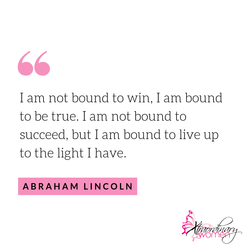 """BUSINESS INSPIRATION: """"I Am Not Bound To Win, I Am Bound"""