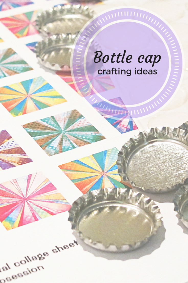 Ideas for crafting with bottle caps