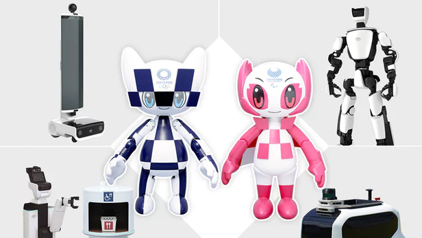 Toyota Reveals Full Line Up Of Support Robots For 2020 Olympics Toyota Robot 2020 Olympics