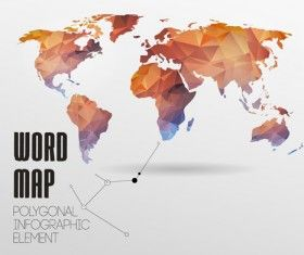 World map with infographics creative vector 04 best free vector world map with infographics creative vector 04 gumiabroncs Images