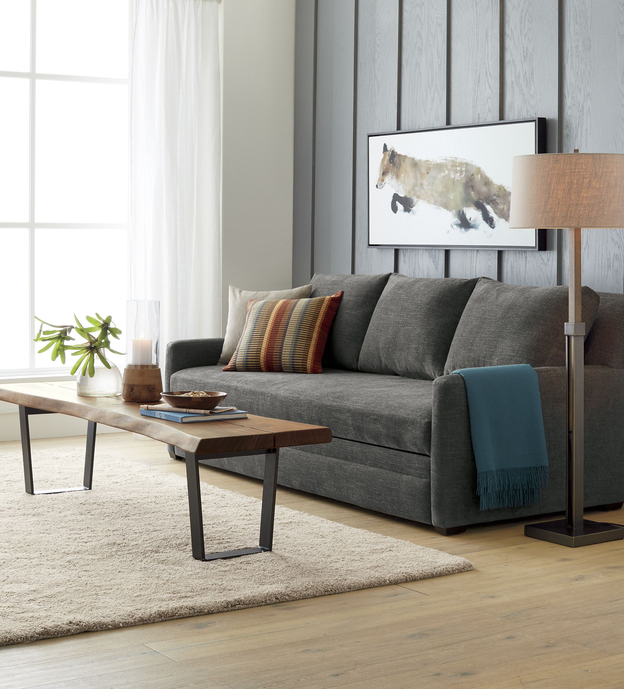 Reston Queen Trundle Sofa Reviews Crate And Barrel Family
